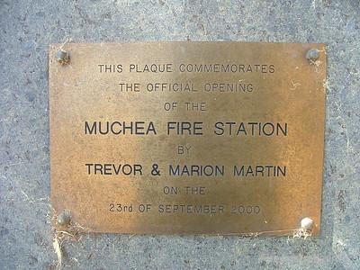 Muchea BFB Fire Station Photo January 2006