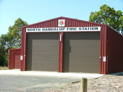 North Dandalup BFB Fire Brigade Photo January 2006