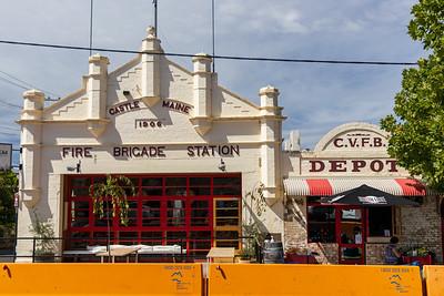 Former CFA Castlemaine Fire Station