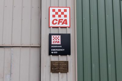 CFA Dederang Fire Station
