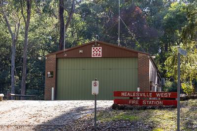 Chum Creek CFA Fire Station