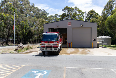 CFA Hesket-Kerrie Fire Station and Tanker 1