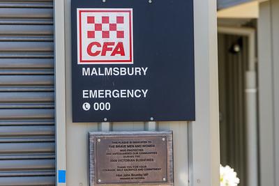 CFA Malmsbury Fire Station