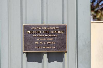 CFA Moolort Fire Station