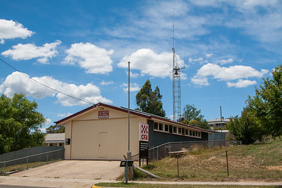 CFA Omeo Fire Brigade Station.  Photo December 2008