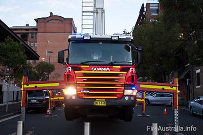 FRNSW Ladder Platform 1 City of Sydney