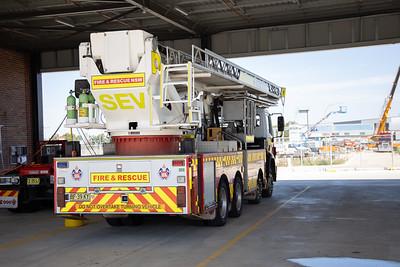 FRNSW Spare Bronto Ladder Platform