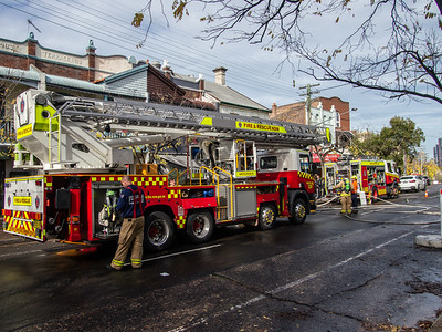 FRNSW Ladder Platform 36 Crows Nest