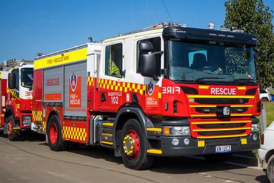 FRNSW Rescue Pump 102 Regentville