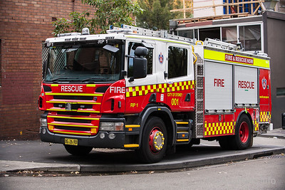 FRNSW Rescue Pump 1 - City of Sydney