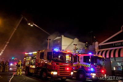 FRNSW Pumpers from 18 Glebe and 5 Newtown