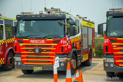 Pre-deployment to Fire+Rescue NSW Emergency Services Academy, Orchard Hills
