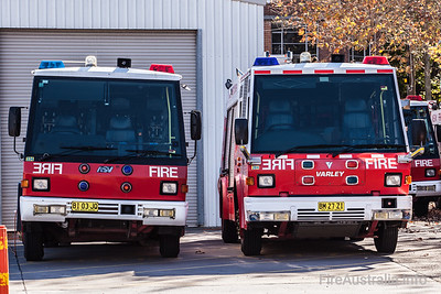 FRNSW Firepac and Commander Pumpers