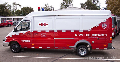 FRNSW Rescue Van