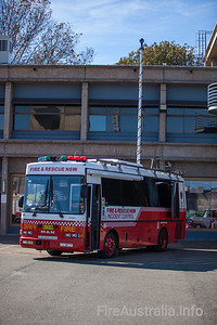 FRNSW Incident Control Vehicle
