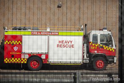 FRNSW SEV Heavy Rescue