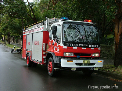 NSWFB Rescue 36 Crows Nest