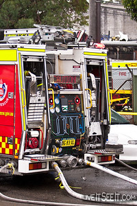 RP62 Bankstown at a Wreckers Fire