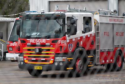 FRNSW Rescue Pumper