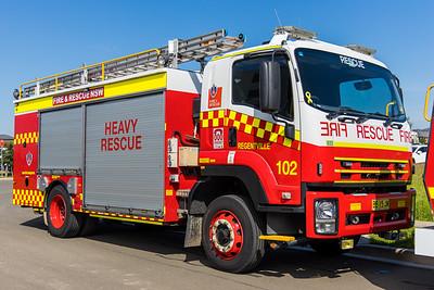 FRNSW Heavy Rescue 102 Regentville