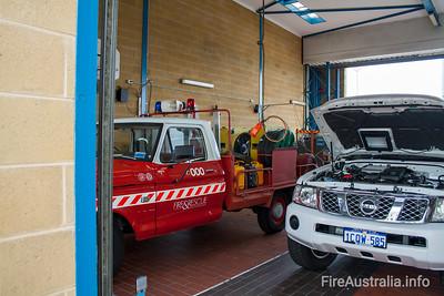 WA FRS Hi-Ex Foam Carrier at Fremantle