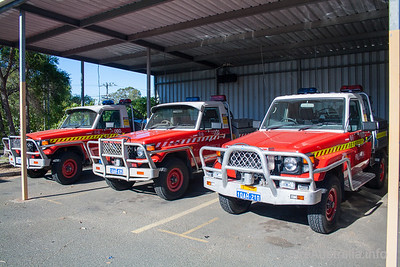 WA FRS Light Tankers at Workshops