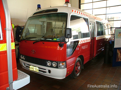 WA Fire & Rescue PC3 Personnel Carrier PC3 at Perth Station  November 2004