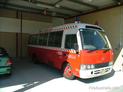 WA Fire & Rescue PC4 Personnel Carrier PC4 at Forrestfield Training Academy  August 2005