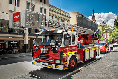 WA Fire & Rescue Spare Ladders