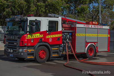 FRS HP29 Heavy Pump at Kiara Fire Station