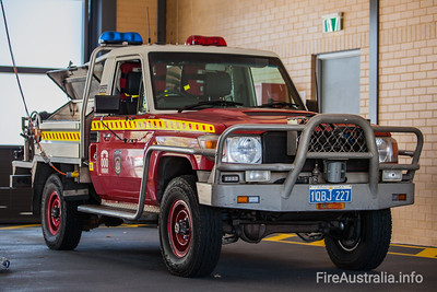 FRS LT410 Light Tanker at Kiara Fire Station