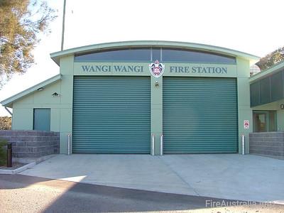 NSWFB 485 Wangi Wangi Fire Station