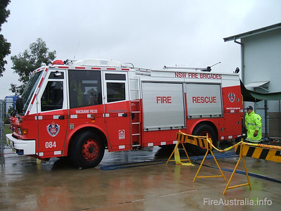 P84 Macquarie Fields Pumper P84 Macquarie Fields Pumper, a Varley Commander  Open Day April 2007
