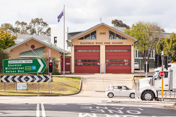 FRNSW 462 Mayfield West Fire Station