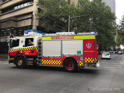 FRNSW Pump 4 Darlinghurst