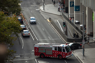 FRNSW SEV STP39 Responding from City of Sydney Station