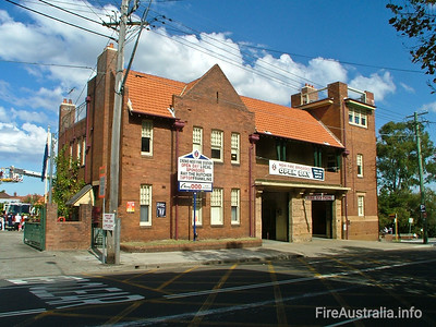 NSWFB 36 Crows Nest Fire Station
