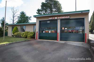 FRNSW 495 Wentworth Falls Fire Station.  Photo December 2013