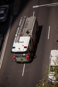 FRNSW SEV STP34 Responding from City of Sydney Station