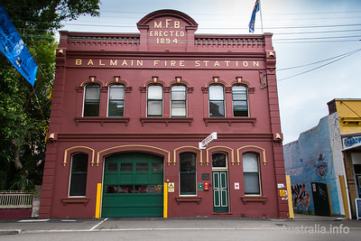 FRNSW Balmain Fire Station