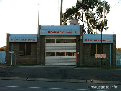 NSWFB 344 Kearsley Fire Station June 2006