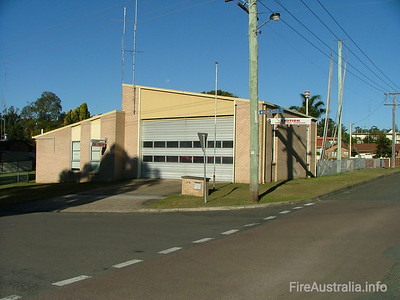FRNSW 383 Morriset Fire Station July 2006