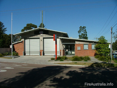 FRNSW 458 Teralba Fire Station July 2006