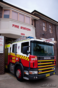 This Scania Pump is a trial utilising CAFS technology. The CAFS (Compressed Air Foam System) has been retrofitted to this pumper, with the High Pressure Stage removed. The appliance is ex 18-Glebe.  Many thanks to the SO and crew for showing me the appliance and discussing it.