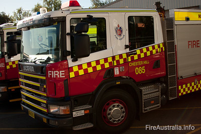 FRNSW P85 Chester Hill Fire Station