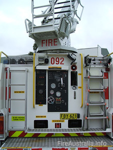 AP92 St Andrews Aerial Pumper 92 St Andrews now run a Pumper and Ladder Platform. The AP has been moved to another station.  Open Day April 2007