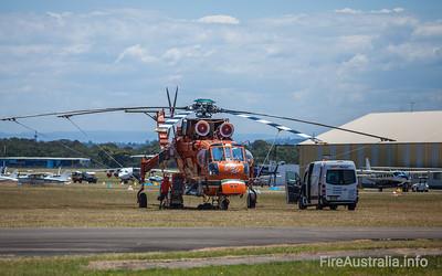 Erickson Air-Crane Gypsy Lady - Helitack 731