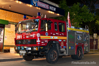 Met one of the guys breifly at the Friend in Hand pub in Glebe tonight. They're from the UK and driving this Fire Truck around the globe, raising funds for cahrities, and setting a World Record while doing it. Check out www.followthatfireengine.com