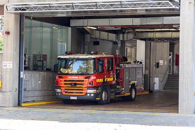 FRV Pumper 1A in Station at Eastern Hill