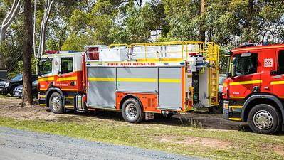QFRS Pumper - Fleet 1381